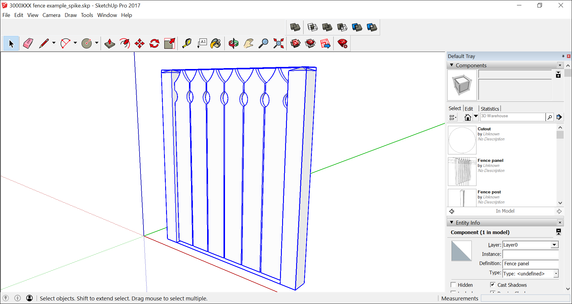 After you edit a SketchUp component definition, click outside the context to see your edits