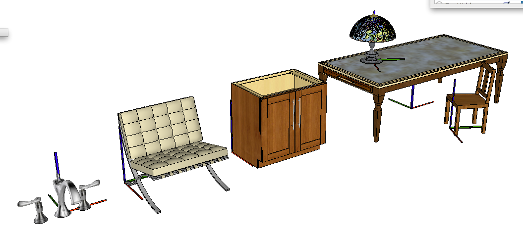 how to get 3d models in sketchup