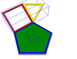 The group made up of the square and triangle components must be preselected.