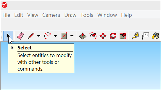Getting Started toolbar