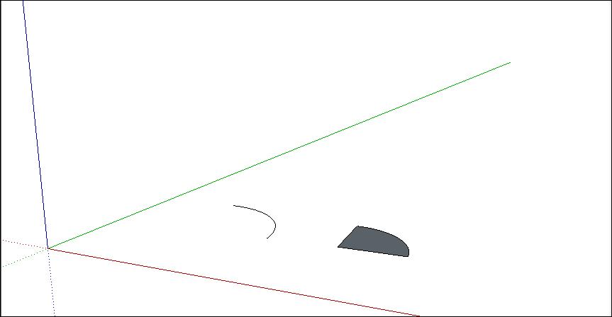 Drawing Arcs   SketchUp Help