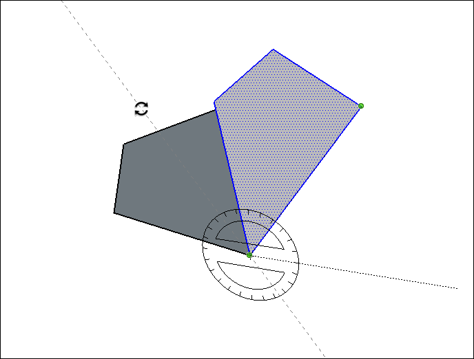 Flipping, Mirroring, Rotating and Arrays | SketchUp Help