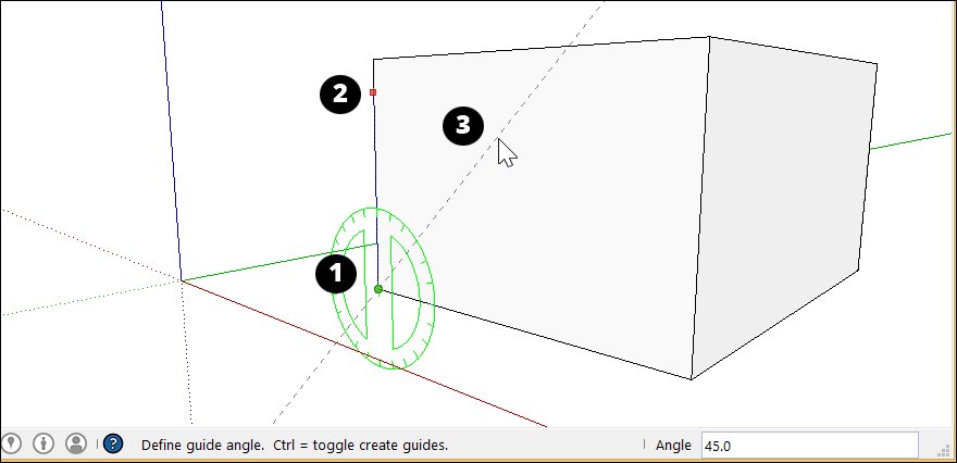 Measuring Angles And Distances To Model Precisely Sketchup Help