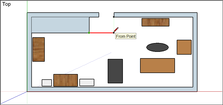 Adjusting the Drawing Axes | SketchUp Help