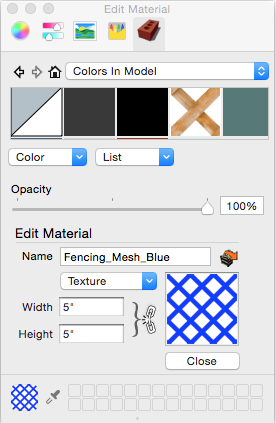 Adding Colors and Textures with Materials | SketchUp Help