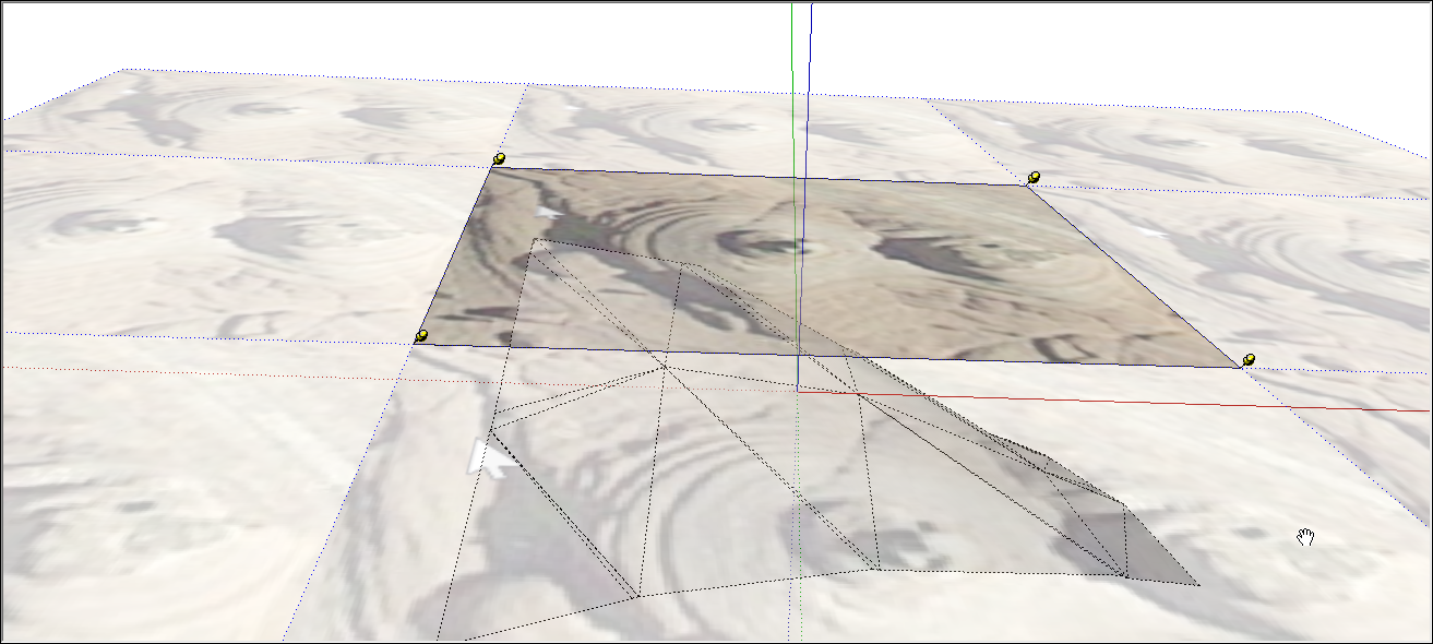 Sticking a Photo or Texture to a Face   SketchUp Help