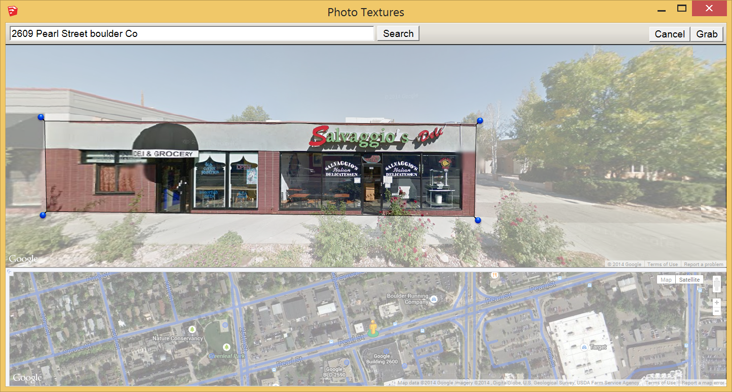 Google boulder address - Click And Drag Each Pin To Select The Google Street View Image You Want To Import Into Your Model In The Figure The Pins Are Placed On Each Corner Of The