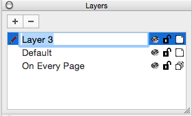 Adding a layer to a LayOut presentation