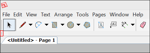 Look for a new toolbars gray move handle.