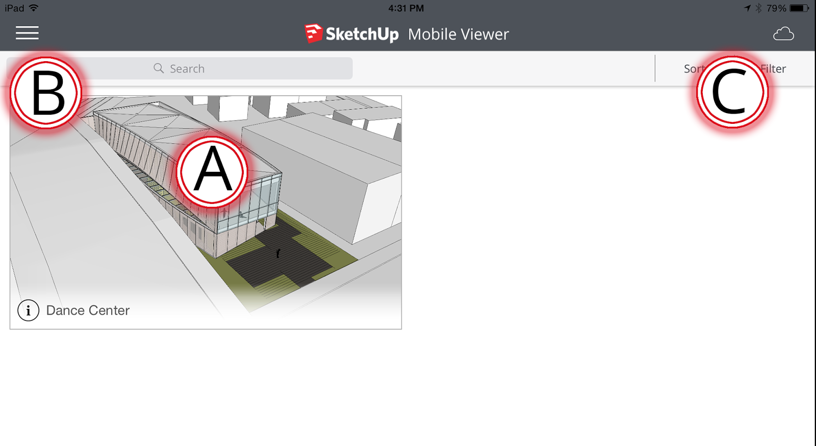 SketchUp Mobile Viewer Home