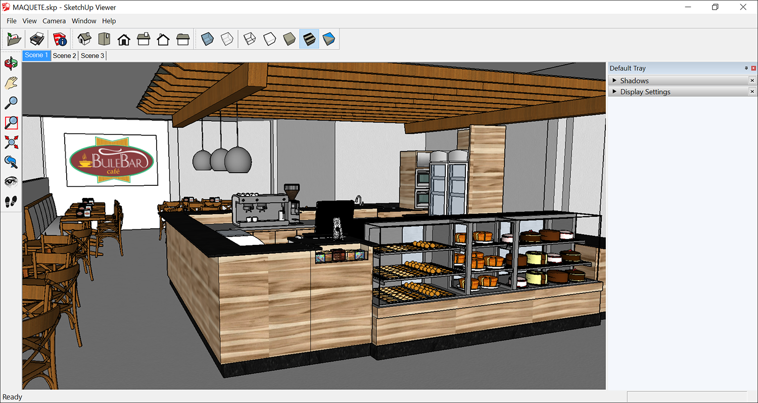 SketchUp Desktop Viewer enables you to view 3D models on a computer that doesnt have SketchUp