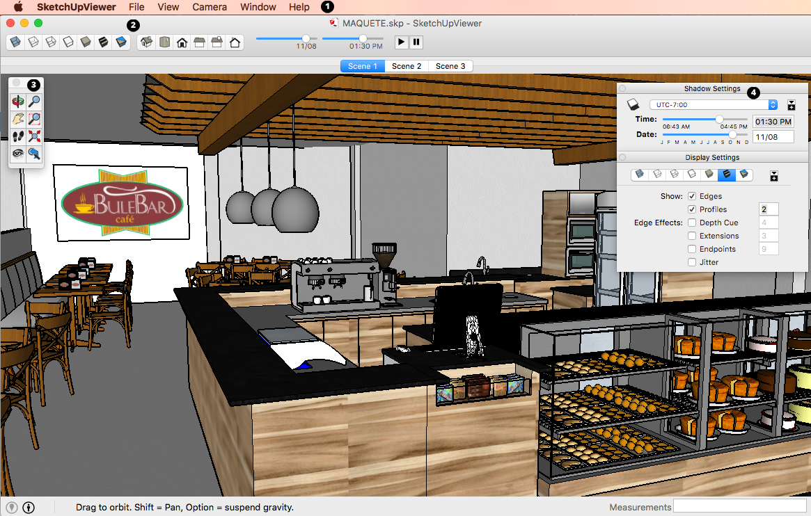 SketchUp Desktop Viewer in Mac OS X