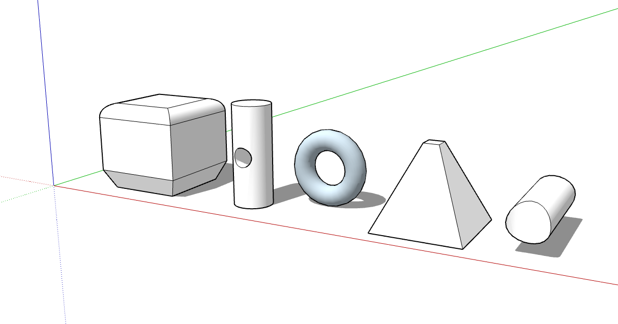This Is An Example Of A 3d Diagram Showing Various Operations In A