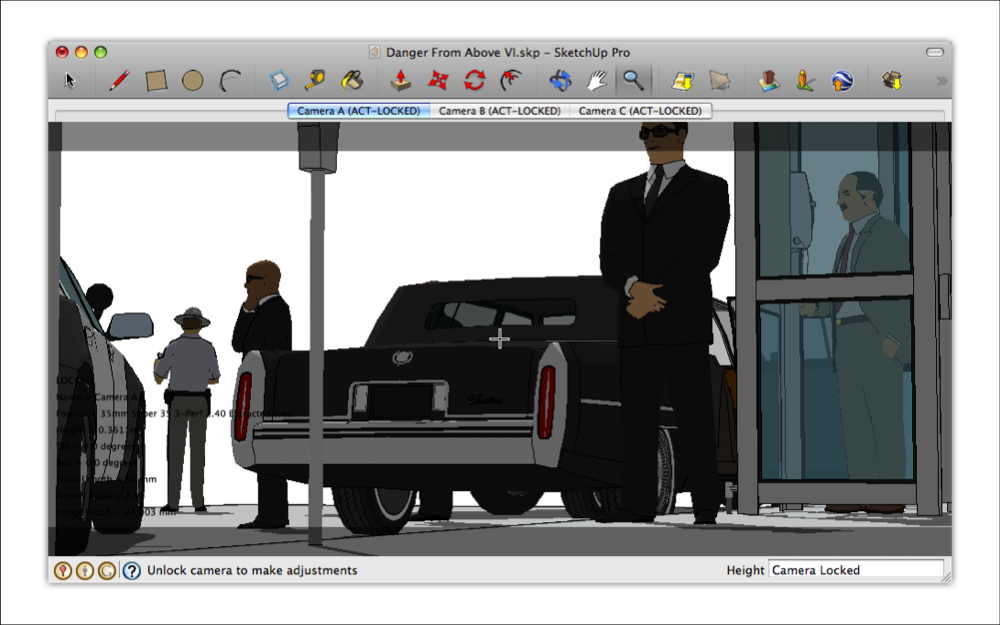 how to add figures to sketchup