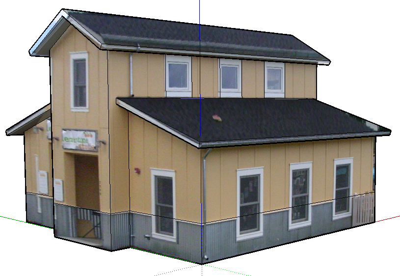 Sketchup model your house