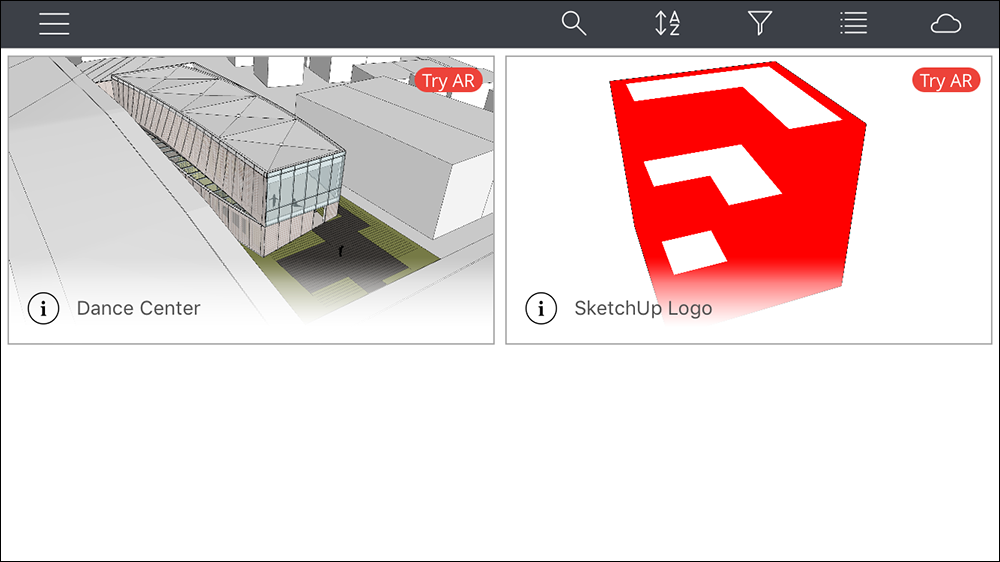 Introducing the Mobile Interface | SketchUp Help