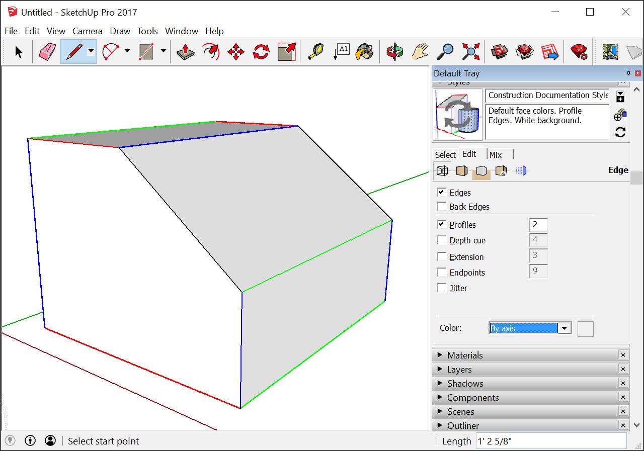 Introducing Drawing Basics and Concepts | SketchUp Help