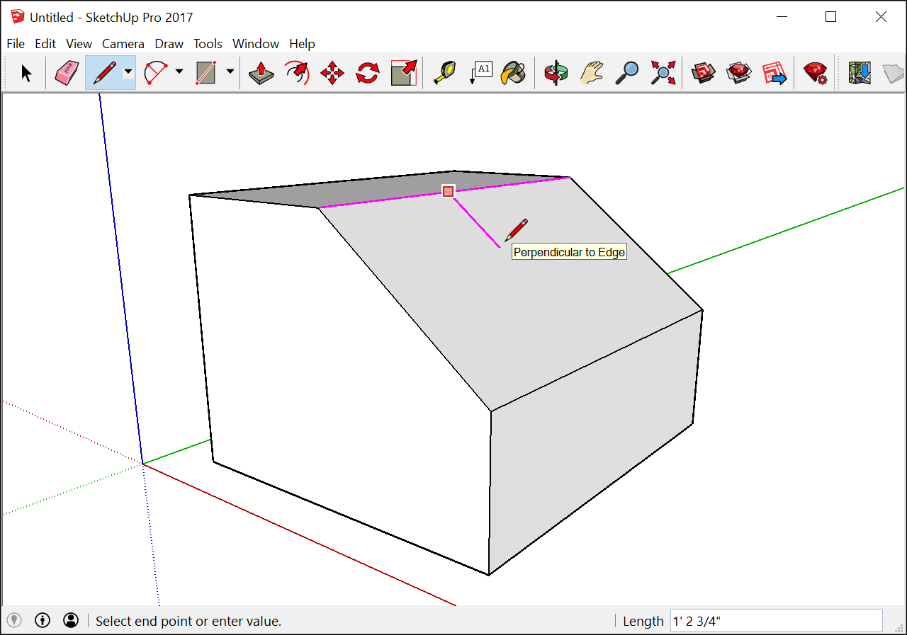 Introducing Drawing Basics And Concepts Sketchup Help In The Diagram Above There Are Two Inputs One Is A Normally Open Push Warning Pay Close Attention To Inference Engine Orbit Occasionally Check Your From Different Viewpoints Following Figure
