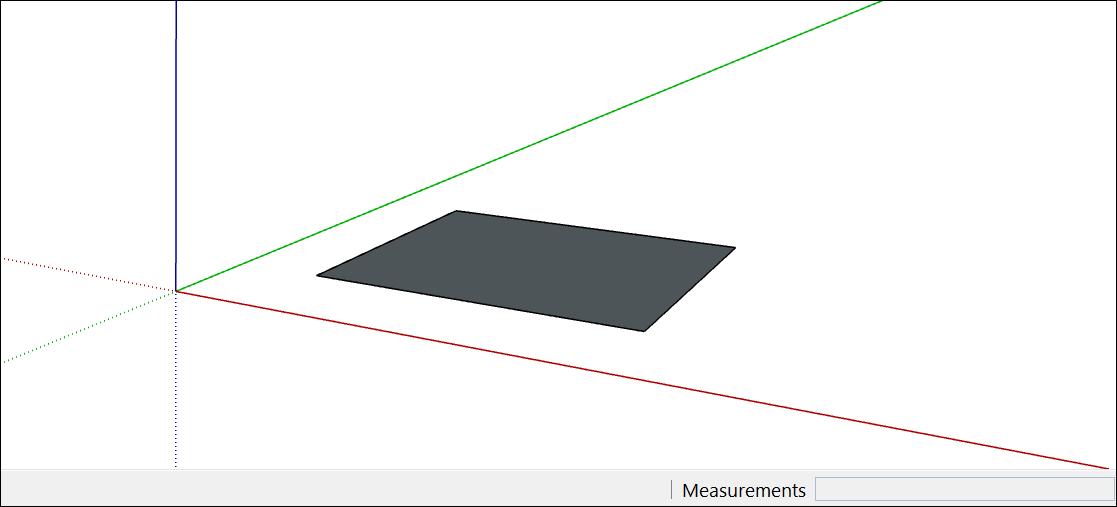 在SketchUp中,許多3D模型以基本矩形開頭