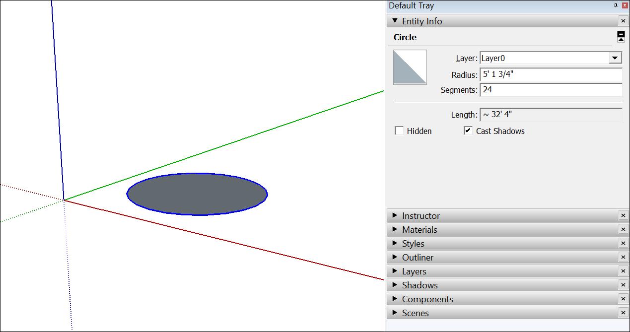Drawing Basic Shapes Sketchup Help