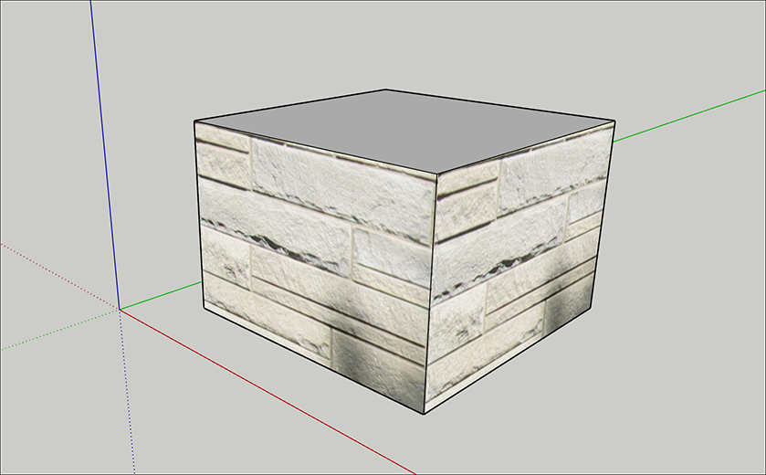 Sticking a Photo or Texture to a Face | SketchUp Help