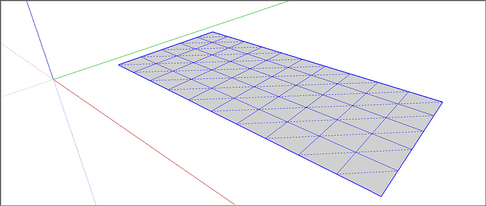 Modeling terrain and other rounded shapes sketchup for Tinning table model