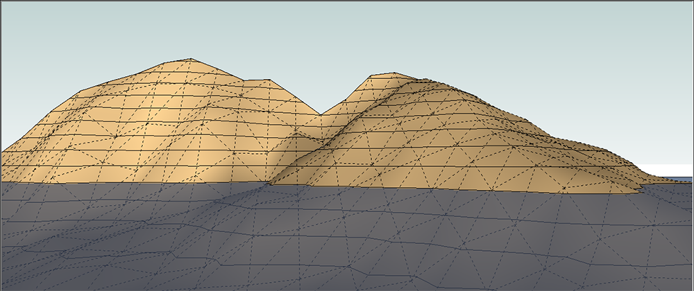 Modeling Terrain and Other Rounded Shapes | SketchUp Help
