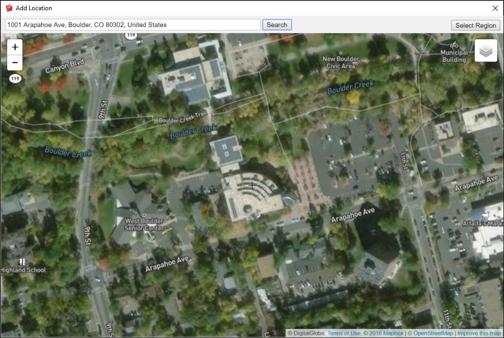 Importing Preexisting Terrain Into SketchUp And Geolocate A Model - Why does google maps uk have terrain and not us