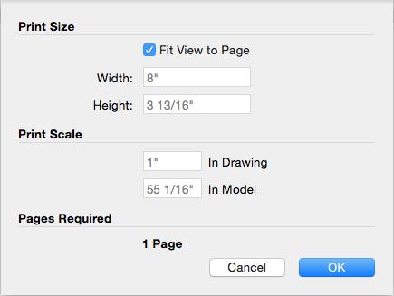 printer paper dimensions