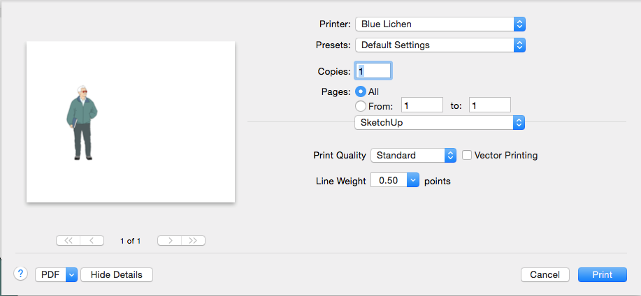 To See Other Options Open The Drop Down List In Middle Of Print Dialog Box Where You Can Choose Set Layout Color