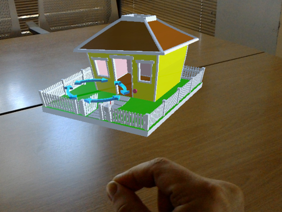 SketchUp Viewer for HoloLens enables you to virtually inhabit a design
