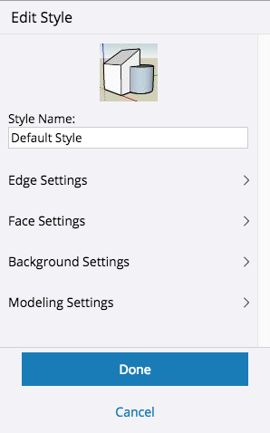 Creating and Editing a Style | SketchUp Help